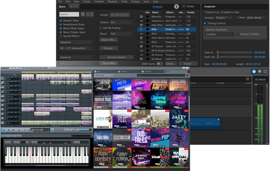 VEGAS Movie Studio 14 Suite – Solution « Power of music »