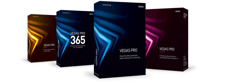 Step up from VEGAS Movie Studio to VEGAS Pro