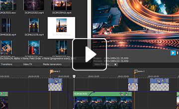VEGAS Movie Studio – Best video editor for beginners