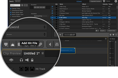 Supercharge your audio with Hit Files