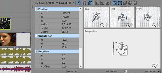 VEGAS Pro 14 - Compositing modes