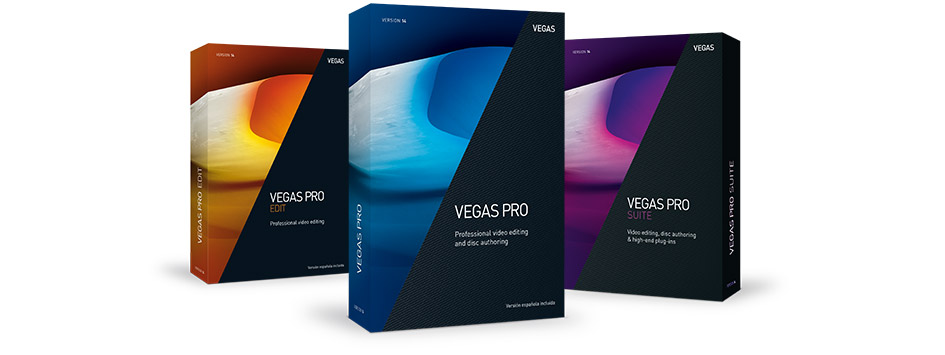 VEGAS Pro 14 - VEGAS Pro for professional creatives