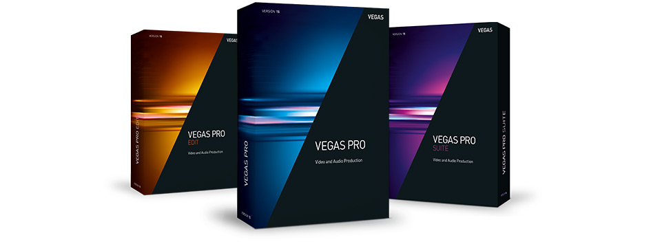 VEGAS Pro 15 Edit - VEGAS product family