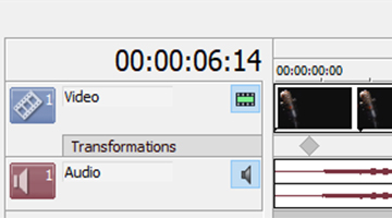 VEGAS Pro 15 - Keyframes and transformation