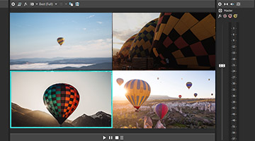 VEGAS Pro 15 - Multicamera-Editing (right)