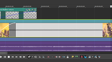 VEGAS Pro 15 - Time Stretch and Compress