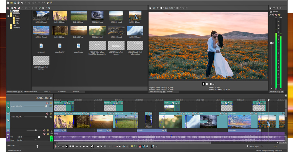 Edit videos for free with the VEGAS Pro Edit test version