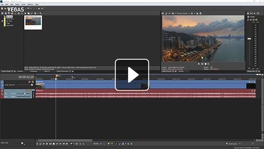 video editing sony vegas tutorial