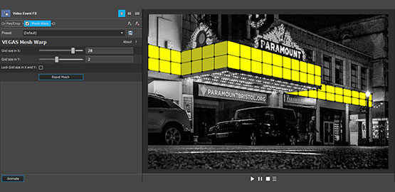 All features – VEGAS Pro