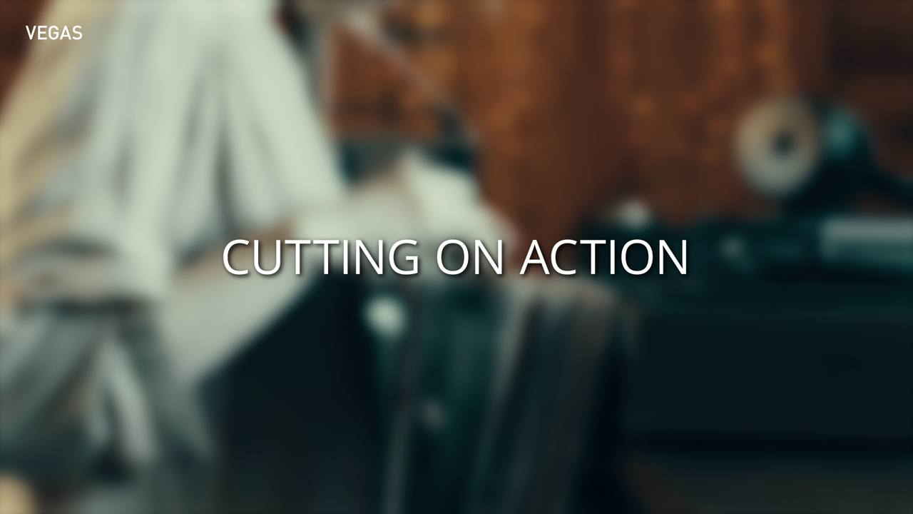 Cutting on action