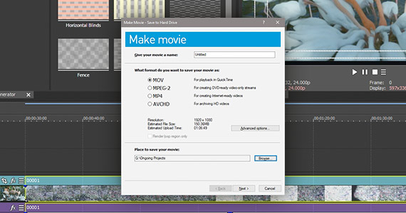 Step 4: Render Video