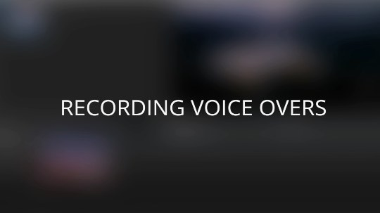 Recording Voiceovers in VEGAS Pro
