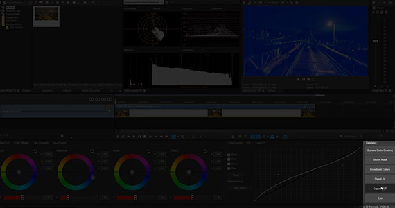 Step 7:  Click the Export LUT button