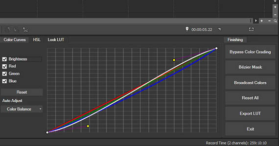 Step 4: Color Curves